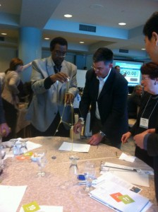 Teaming Exercise at Summit 2012: Executive Education+, led by Cutter Fellow Alan MacCormack