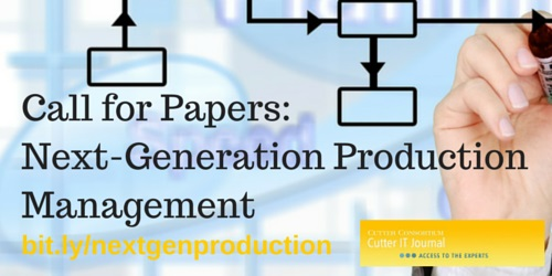 Call for Papers- Next Generation Production Mgt