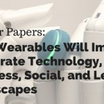 Call for Papers: How Wearables Will Impact Corporate Technology, Business, Social, and Legal Landscapes