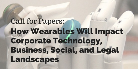 Call for Papers- Wearables