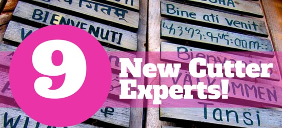 Announcing New Cutter Experts