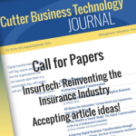 [Call for Papers] Insurtech: Reinventing the Insurance Industry
