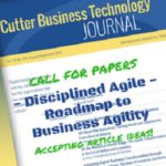 [Call for Papers] Disciplined Agile: Roadmap to Business Agility
