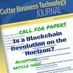 [Call for Papers] Is a Blockchain Revolution on the Horizon?