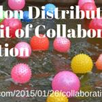 Abandon Distribution in Pursuit of Collaborative Invention